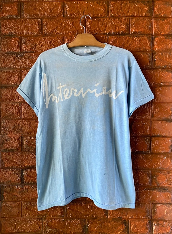 """Vintage 70s Andy Warhol """"Interview"""" 1969 Fashion M"""