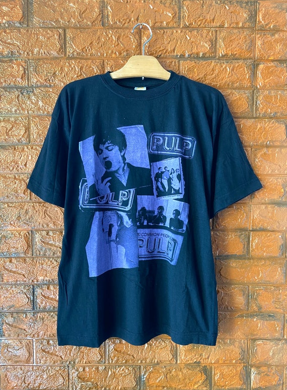 """Vintage 90s Pulp """"Common People"""" 1995 Different Cl"""