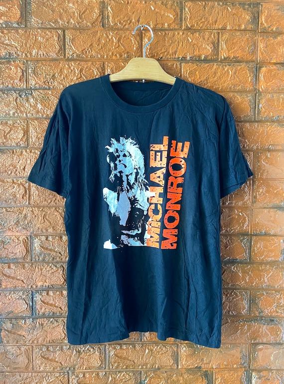 "Vintage 90s Michael Monroe ""Hanoi Rocks"" Frontman"