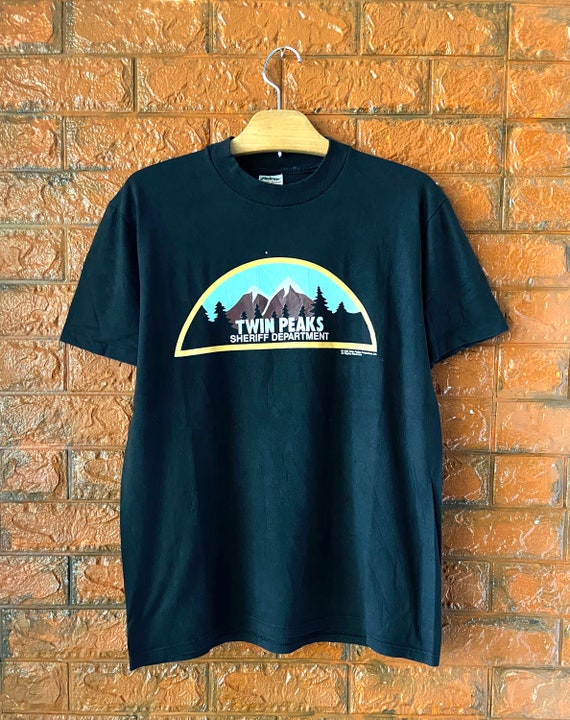 "Vintage 90s Twin Peaks ""Sheriff Department"" 1990 C"