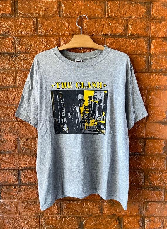 Vintage 00s The Clash 1977 Album Promo Punk T Shir