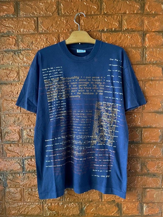 "Vintage 90s Björk ""Lyrical"" 1994 Official Promo T"