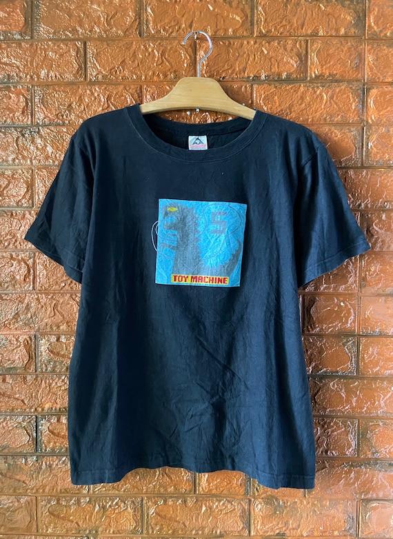 Vintage 90s Toy Machine Skatewear T Shirt / Hook U