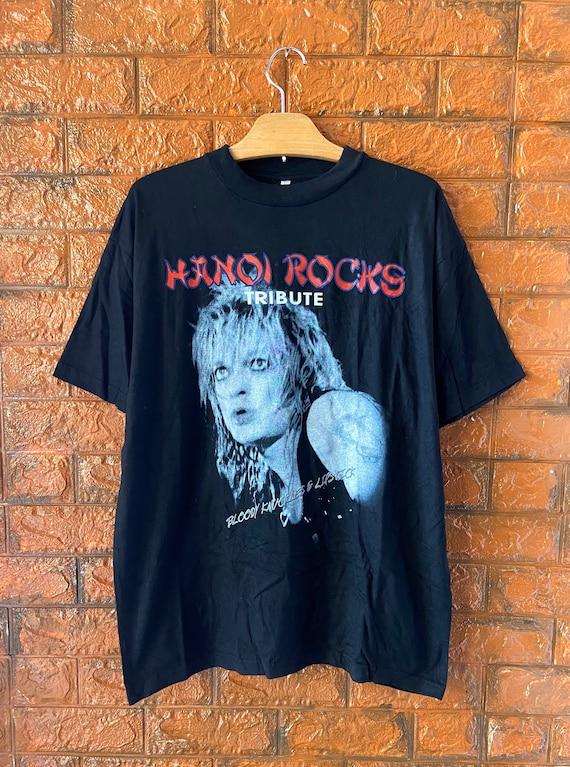 "Vintage 90s Hanoi Rocks ""Bloody Knuckles & Lipstic"