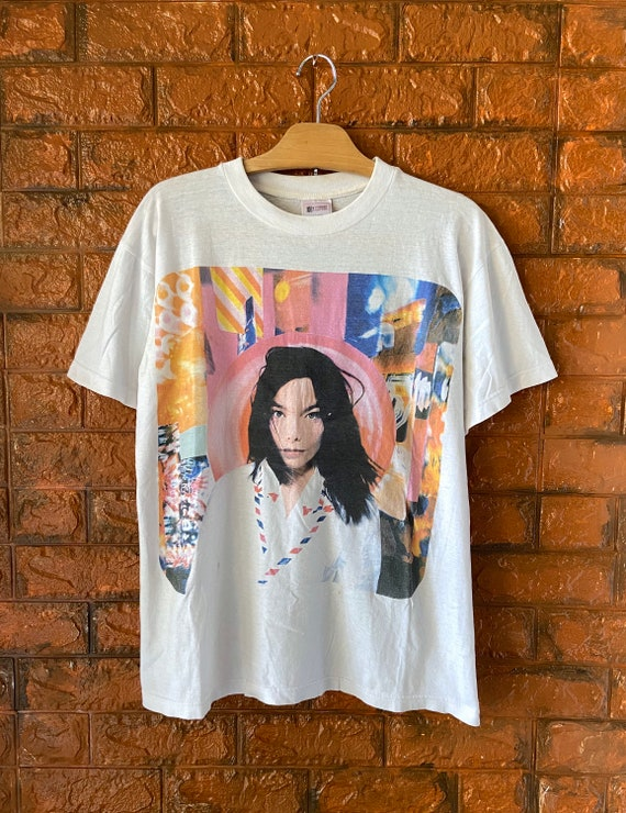 "Vintage 90s Björk ""Post"" 1995 Album Promo T Shirt"