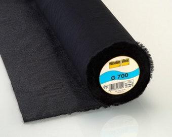 Vilene G700 Woven Medium Interfacing Black (Equivalent Pellon SF101)