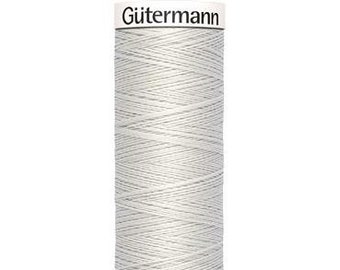 Gütermann rPET Sew-all Polyester Thread - Light Grey 8