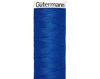 Gütermann rPET Sew-all Polyester Thread - Royal Blue 315