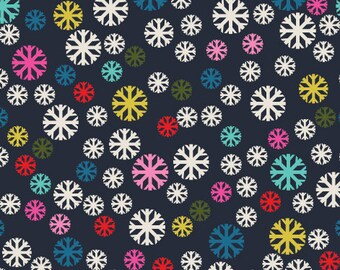 Snowflakes - PRECUT FAT QUARTER - Dashwood Studio