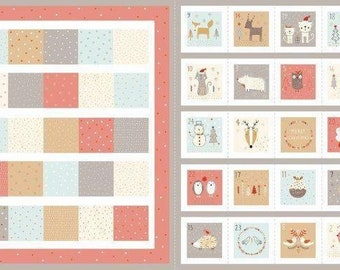 Woodland Animals Advent Calendar by Dashwood Studio - Christmas Advent Calendar Kit