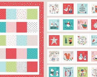 Forest Friends Advent Calendar by Dashwood Studio - Christmas Advent Calendar Kit