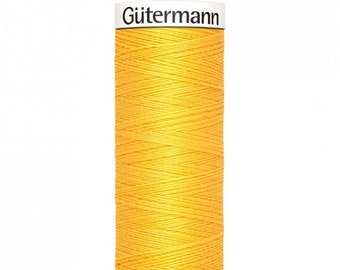 Gütermann rPET Sew-all Polyester Thread - Yellow 417