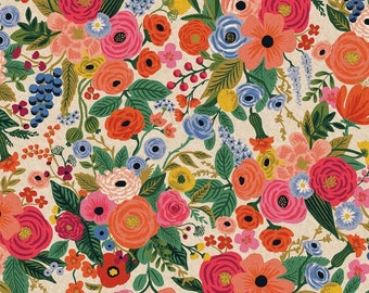 Wildwood Garden Party - Canvas Fabric - Rifle Paper Co.