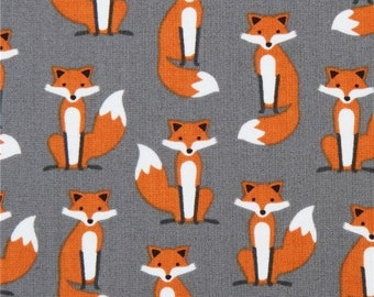 Foxes - PRECUT FAT QUARTER - Robert Kaufman