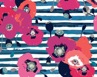 Paparounes Crimson - Art Gallery Fabrics