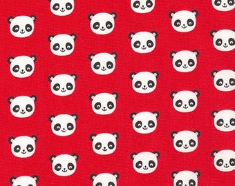 Pandas on Red - Robert Kaufman