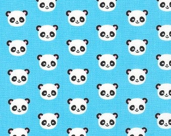 Blue Panda - PRECUT HALF METRE