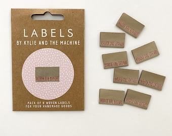 Worth The Effort Woven Labels 8 Pack - Labels By Kylie and The Machine