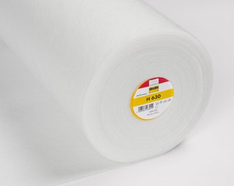 Vilene H630 Low Loft Fusible Fleece - White