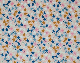 Peachy Stars - Paper Cuts Starstruck - Cotton + Steel