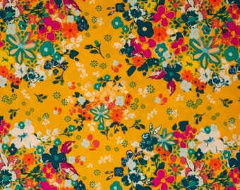 Femme Metale Boho Coral - Art Gallery Fabrics