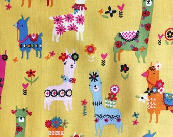 Fiesta Llamas - Fiesta - Dashwood Studio - Sold in Half Metre Increments