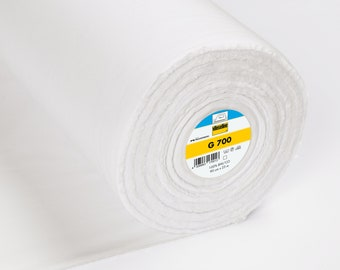 Vilene G700 Woven Medium Interfacing White (Equivalent Pellon SF101)
