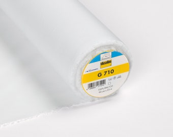 Vilene G710 Woven Light Weight Interfacing White - Vilene Interfacing - Light Woven Interfacing