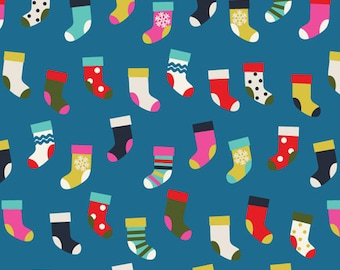 Christmas Stockings - PRECUT FAT QUARTERS