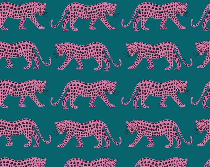 Featured listing image: PREORDER - Pink Cheetahs - Night Jungle - Dashwood Studio