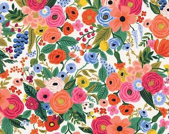 Wildwood Garden Party - Cream Fabric - Rifle Paper Co.