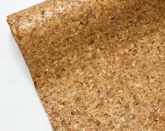 Silver Cork Fabric - Cork Vinyl - Precut
