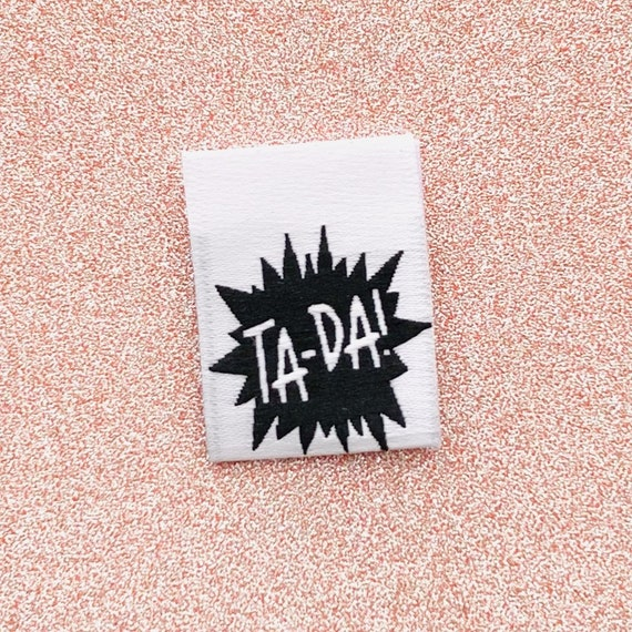 TA-DA! Woven Labels 8 Pack - Labels By Kylie and The Machine
