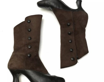 ec5e8403ef3 Brown prairie boots | Etsy