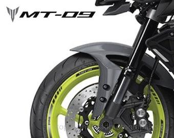 Yamaha Mt 09 Motorrad Felgen Aufkleber Set Decals Streifen
