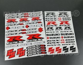R GSXR SUZUKI MOTO STICKER STICKERS AUTOCOLLANT décoration autocollant int//ext
