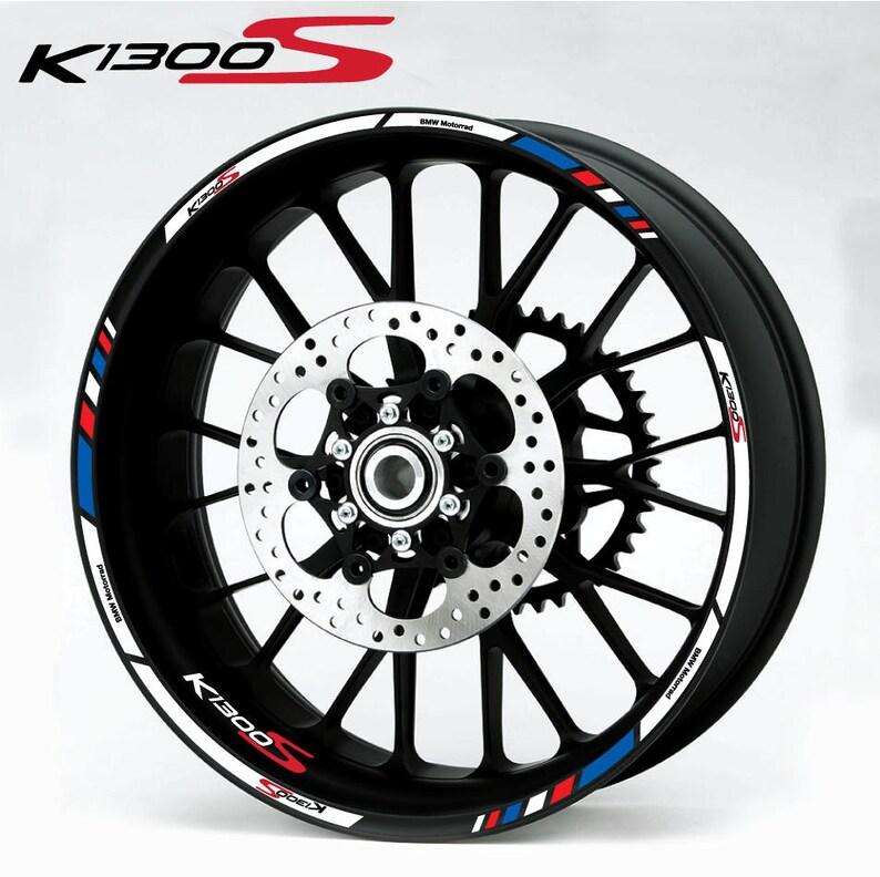 Bmw K1300s Motorcycle Wheel Stickers Set Decals Rim Stripes Etsy