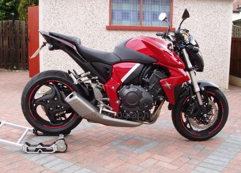 Honda Cb1000r Motorcycle Wheel Stickers Set Decals Rim Stripes Etsy