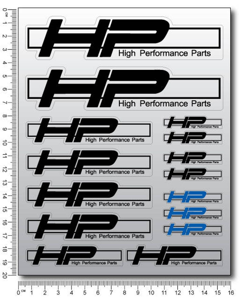 High Performance Parts >> Bmw Hp High Performance Parts Hp4 Motorcycle Stickers Fairing Etsy