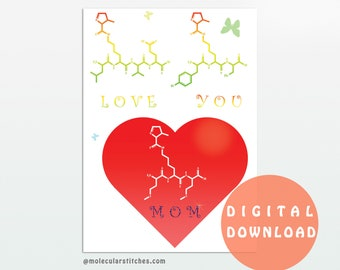 image about Amino Acid Flashcards Printable called Amino acid playing cards Etsy