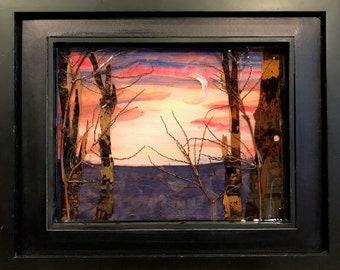 Sunset, Moonrise