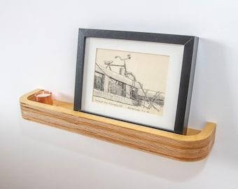 Floating Picture Rail Shelf 50cm