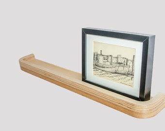 Floating Picture Rail Shelf 75cm