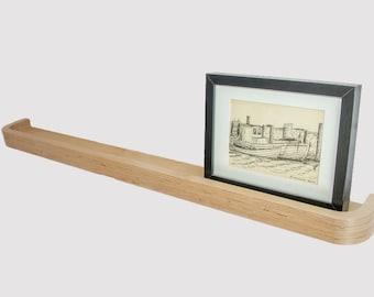 Floating Picture Rail Shelf 100cm