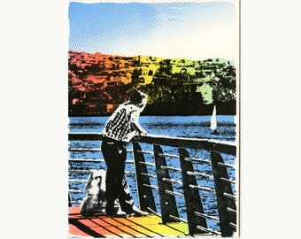 The rest - postcard
