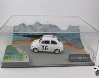 Fiat 500 STEYR-PUCH- 500 D N.26 RALLY  - Diorama