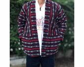 Limited edition tribal woven kimono, festival clothing, Hippie kimono cover up, bohemian kimono, hill tribe woven kimono, Bohemian clothing