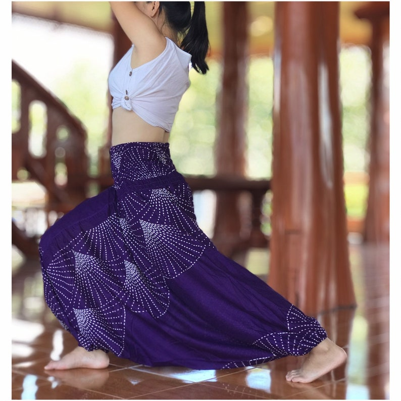 Thai Harem Pants Festival Clothing Hippie Pants Yoga Pants Etsy