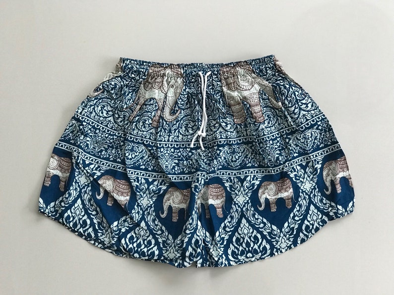 a7f18ccc5 Woman hippie shorts Hippie shorts Elephant shorts Festival