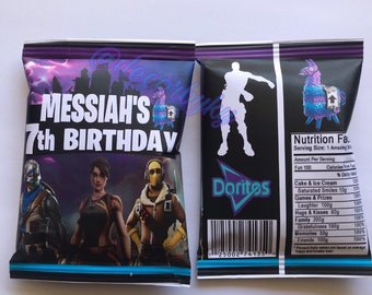 fortnite themed chip bags fortnite custom treat boxes fortnite goody bag fortnite party fortnite birthday - fortnite store uk